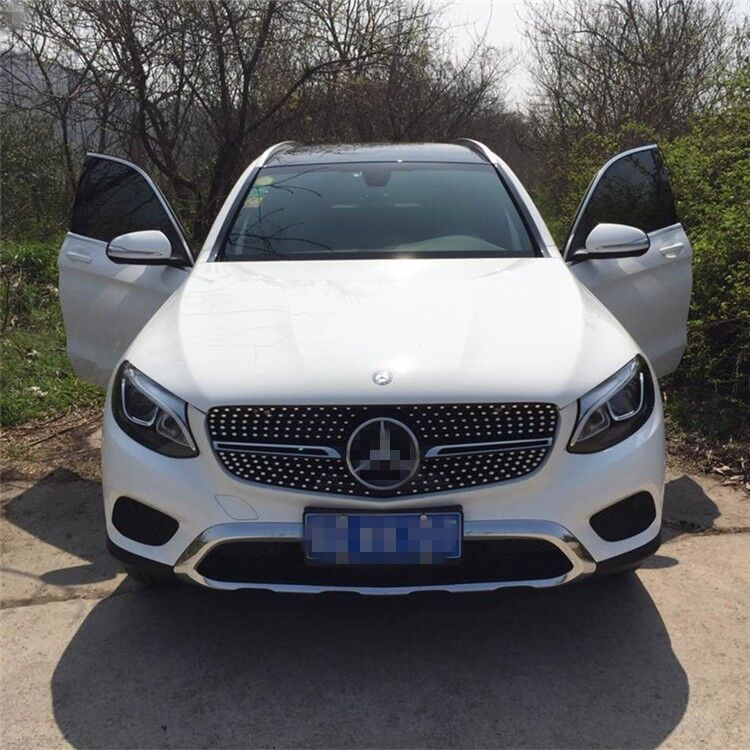 Fit for mercedes benz glc x253 2016 2017 amg front grille for Mercedes benz glc 300 accessories