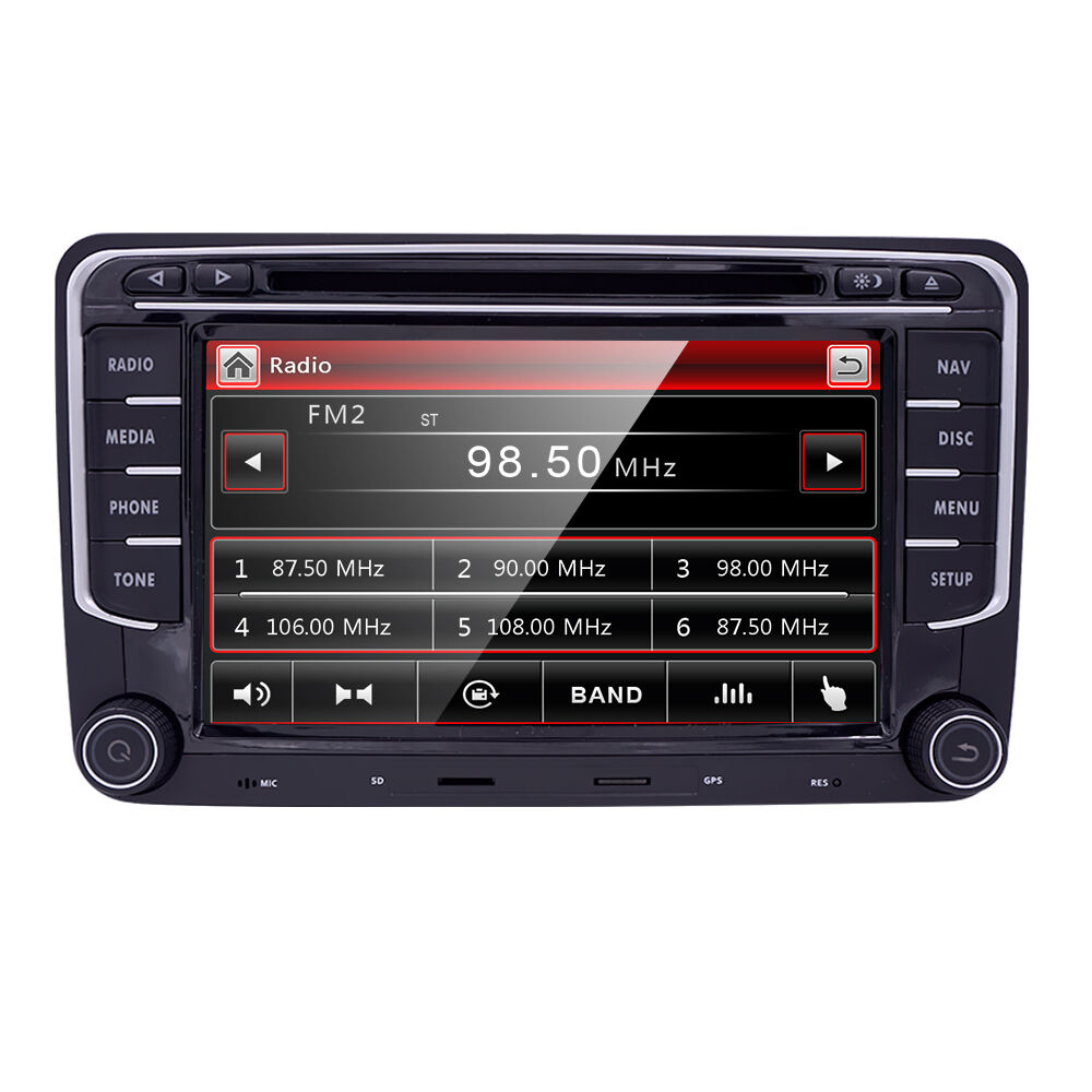 2din car dvd player gps navigation for vw passat skoda. Black Bedroom Furniture Sets. Home Design Ideas