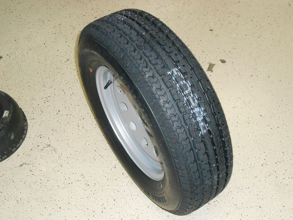 15 inch trailer tire wheel rim 205 75 15 radial boat utility car trailer ebay. Black Bedroom Furniture Sets. Home Design Ideas