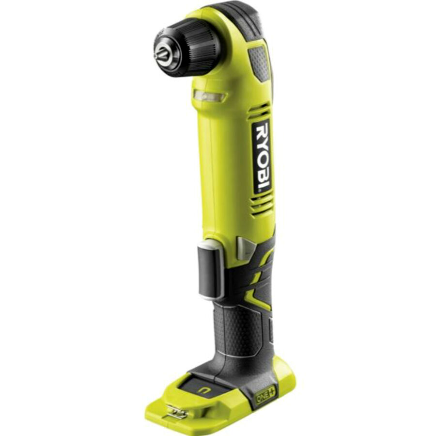 new ryobi one 18v right angle cordless drill driver skin only ebay. Black Bedroom Furniture Sets. Home Design Ideas