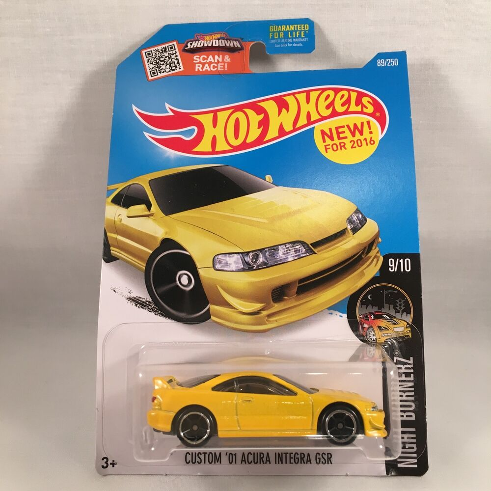 Hot Wheels Acura Integra GSR Honda Integra DC2 USDM W JDM
