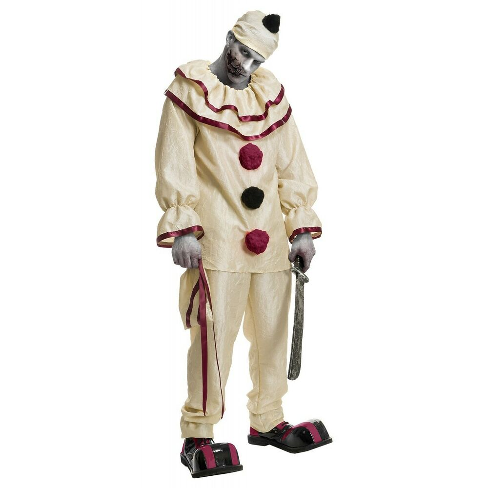 Twisty Costume Adult Scary Clown Creepy American Horror