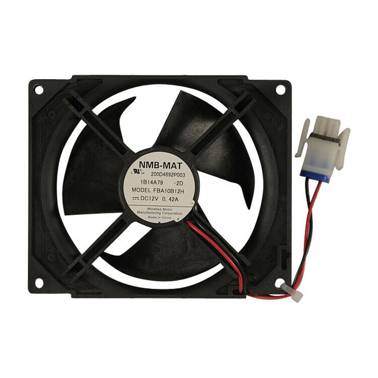 Genuine wr60x10184 ge refrigerator evaporator fan motor ebay for Ge refrigerator condenser fan motor not working