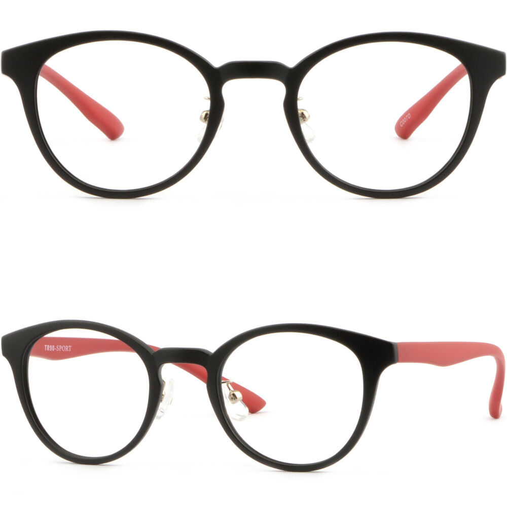 Lightweight Plastic Frame Glasses : Women Light TR90 Plastic Frame Adjustable Nose Piece Pad ...
