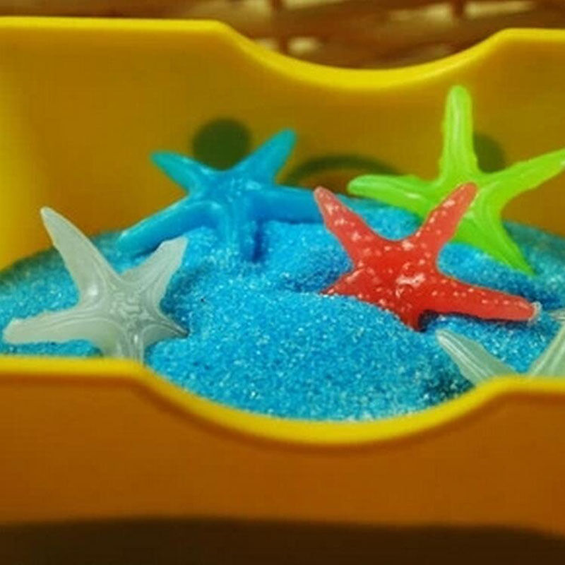 10pcs glow in the dark sea shells starfish stone aquarium for How to decorate a fish tank with household items