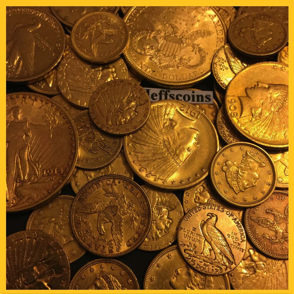 Estate Sale Old Us Gold Coin 1 Piece Lot 2 5 5 10 P S