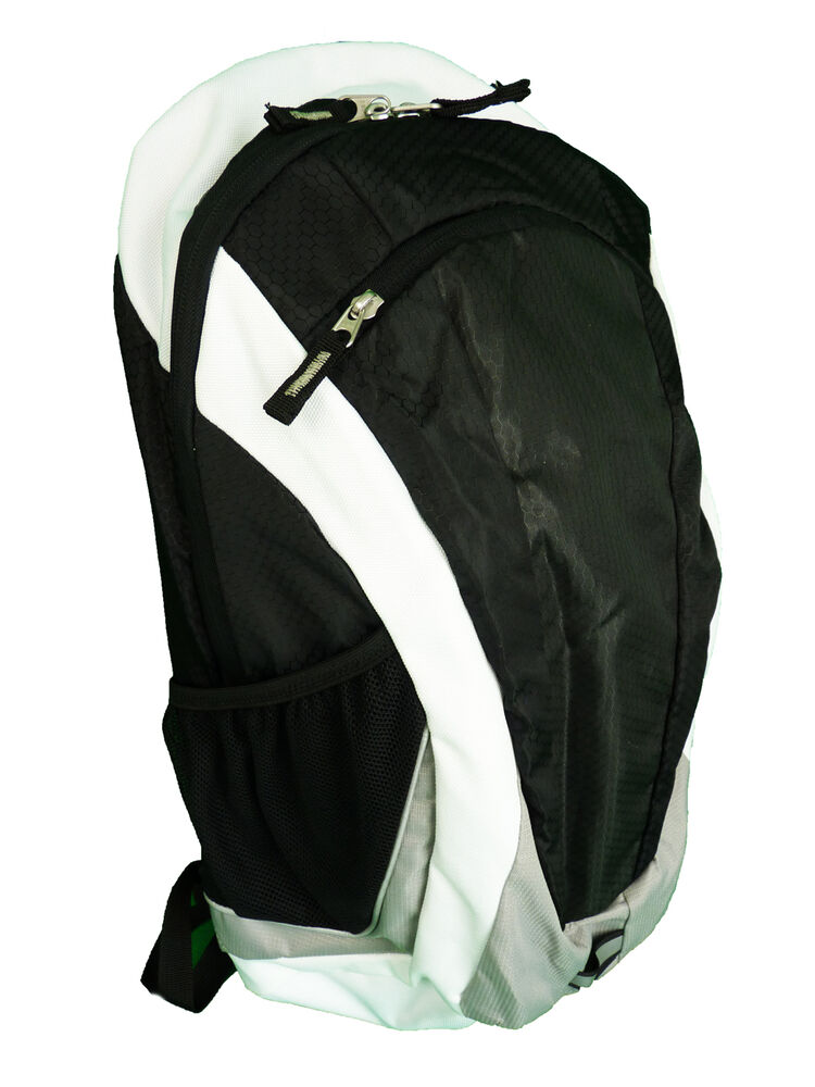 tcm tchibo rucksack wanderrucksack trekkingrucksack schwarz weiss grau neu ebay. Black Bedroom Furniture Sets. Home Design Ideas