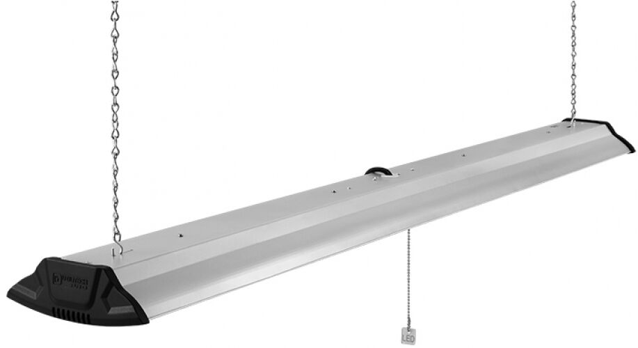 Utilitech Pro Strip Led Light 4 Ft With Pull Chain Shop