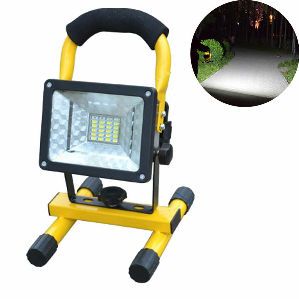 Portable Waterproof 30W IP65 3 Modes 24 LED Flood ...