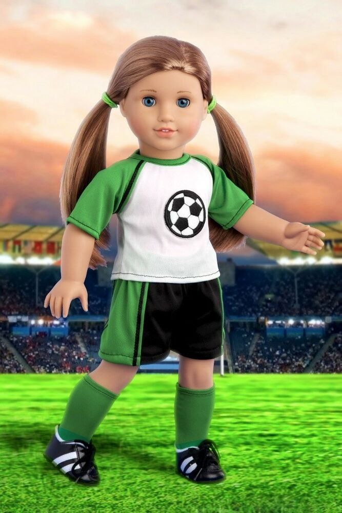 soccer clothes for 18 quot american doll shirt