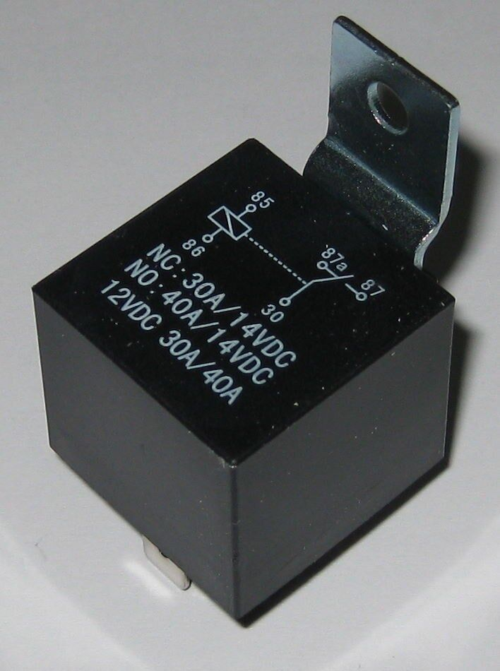 Heavy Duty 12v Automotive Relay - 30a    40a
