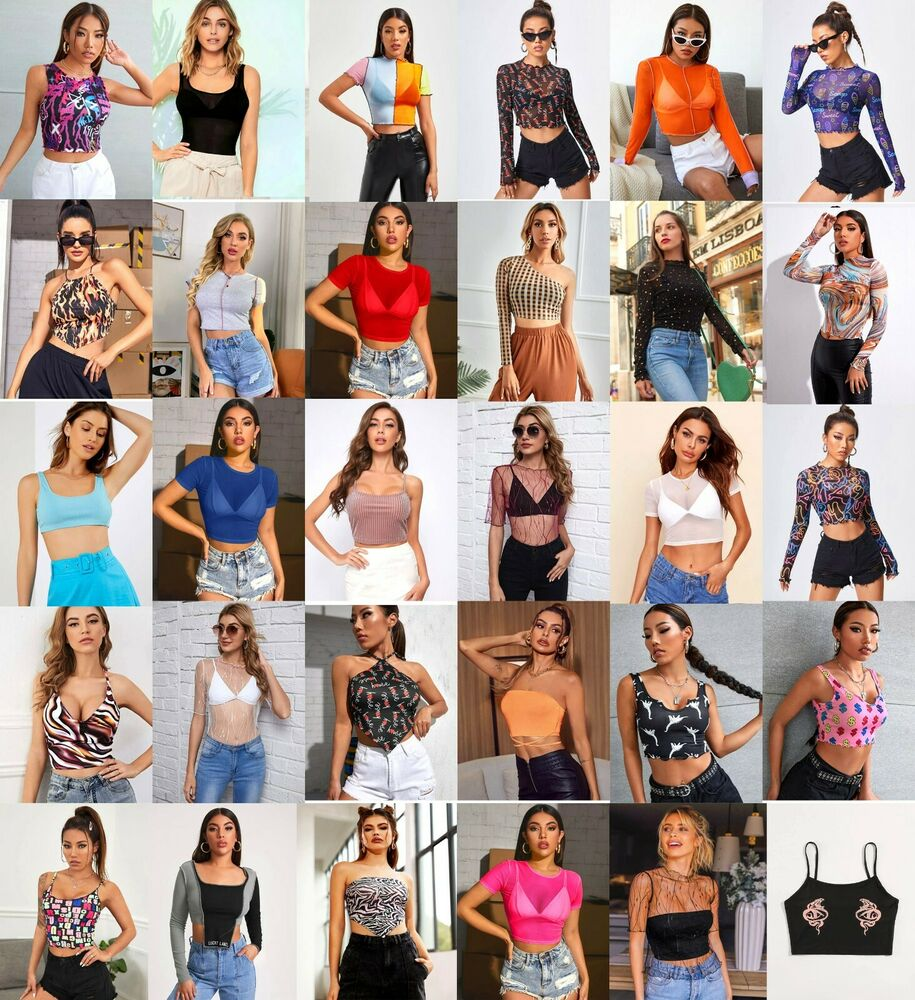 R1 WHOLESALE LOT 200 PCS WOMEN MIXED APPAREL CLOTHING TOPS ...