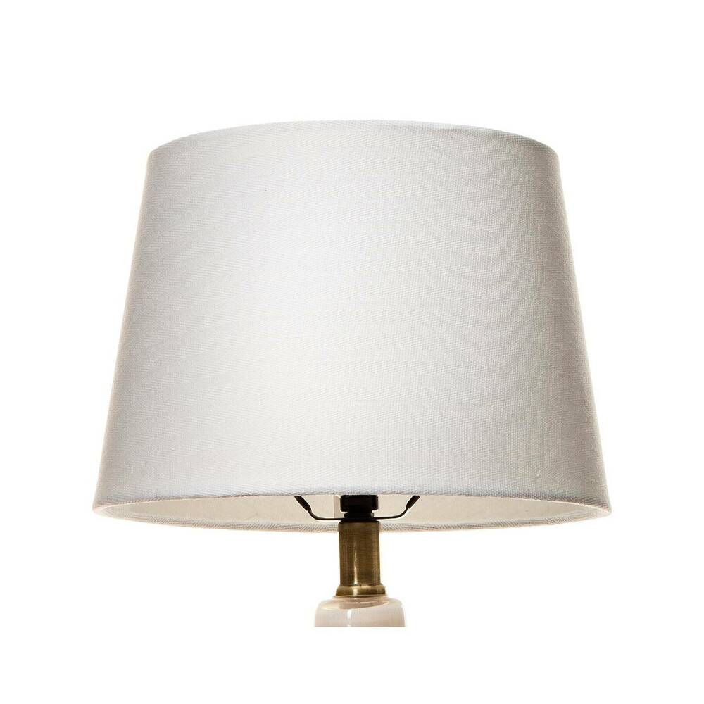 Linen Lamp Shade White Small Threshold Ebay