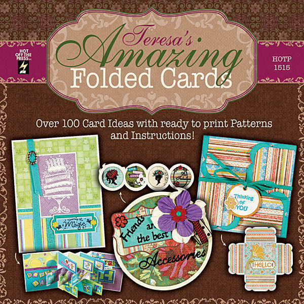 cool paper craft ideas teresa s amazing folded cards dvd greeting cardmaking 3698