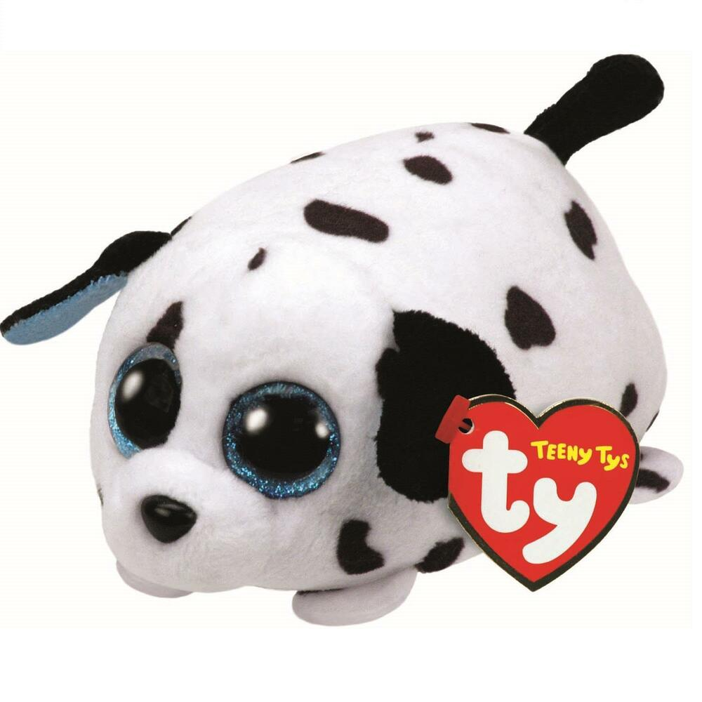 Details about Ty Beanie Babies 42160 Teeny Tys Spangle the Dalmation 1e49426727c