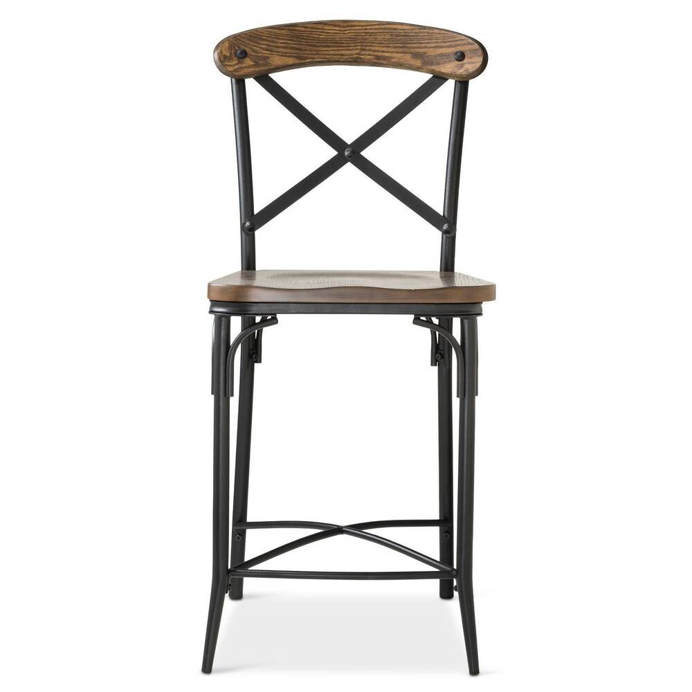 Bralton 23 Quot Counter Stool Steel Brown Ebay