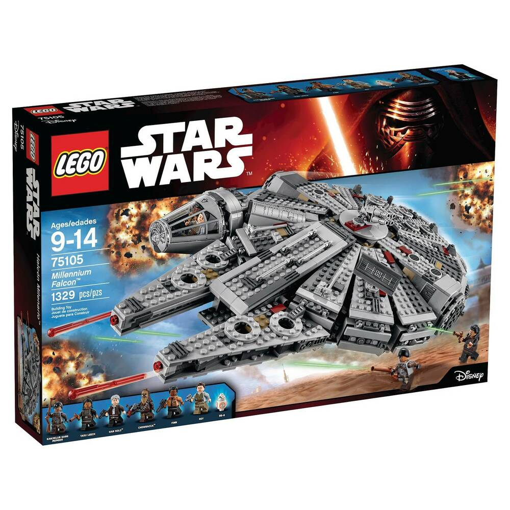lego star wars millennium falcon 75105 673419231619 ebay. Black Bedroom Furniture Sets. Home Design Ideas