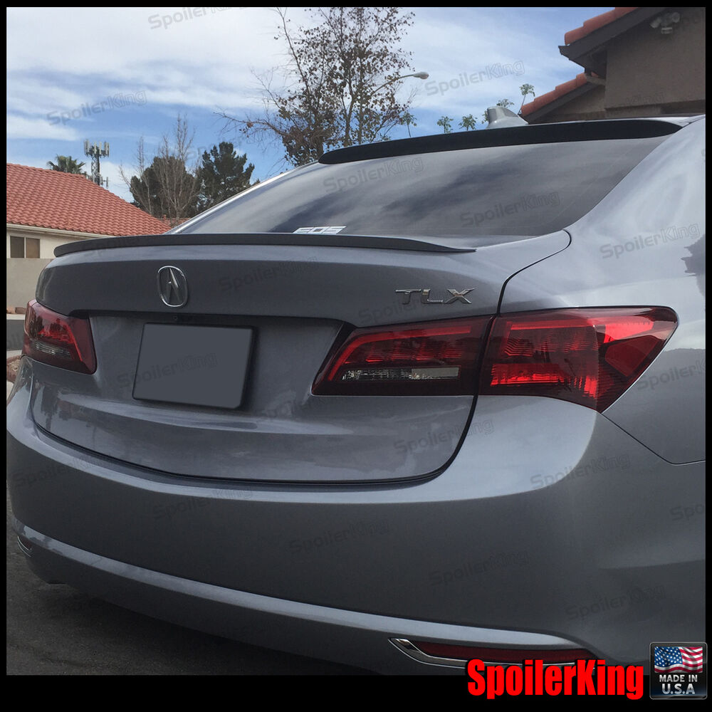 Rear Roof Spoiler & Trunk Wing Combo Fits: Acura TLX 2015