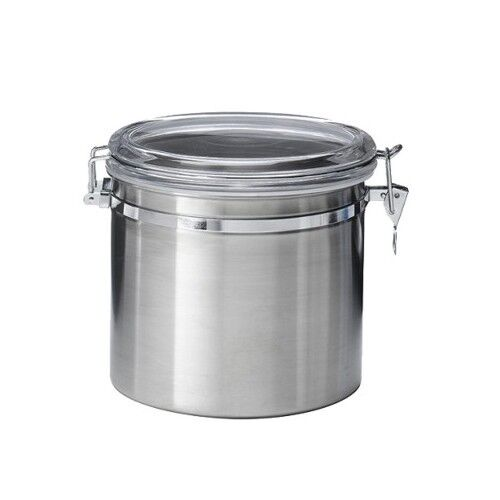 kitchen canister sets stainless steel jumbo stainless steel kitchen canister ebay 24618