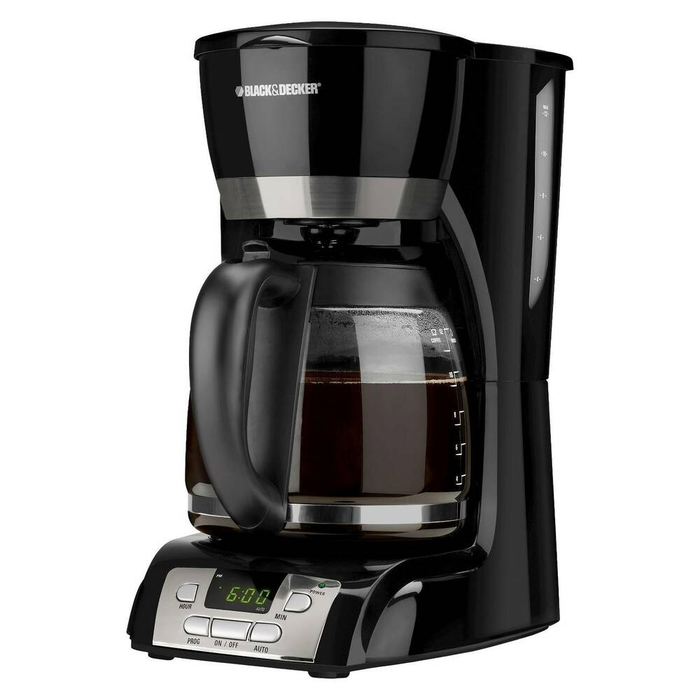 programmable coffee maker black decker 12 cup programmable coffee maker black 12717