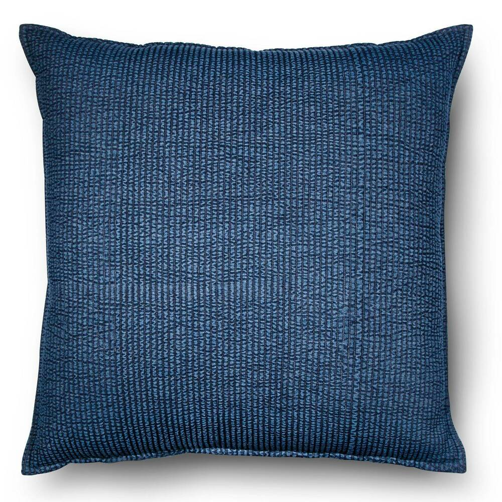 Large Throw Pillows For Couch : Blue Oversized Chambray Denim Throw Pillow - Threshold eBay