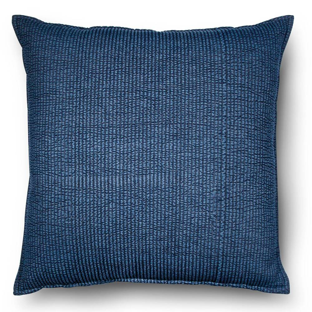 Large Throw Pillows Couch : Blue Oversized Chambray Denim Throw Pillow - Threshold eBay