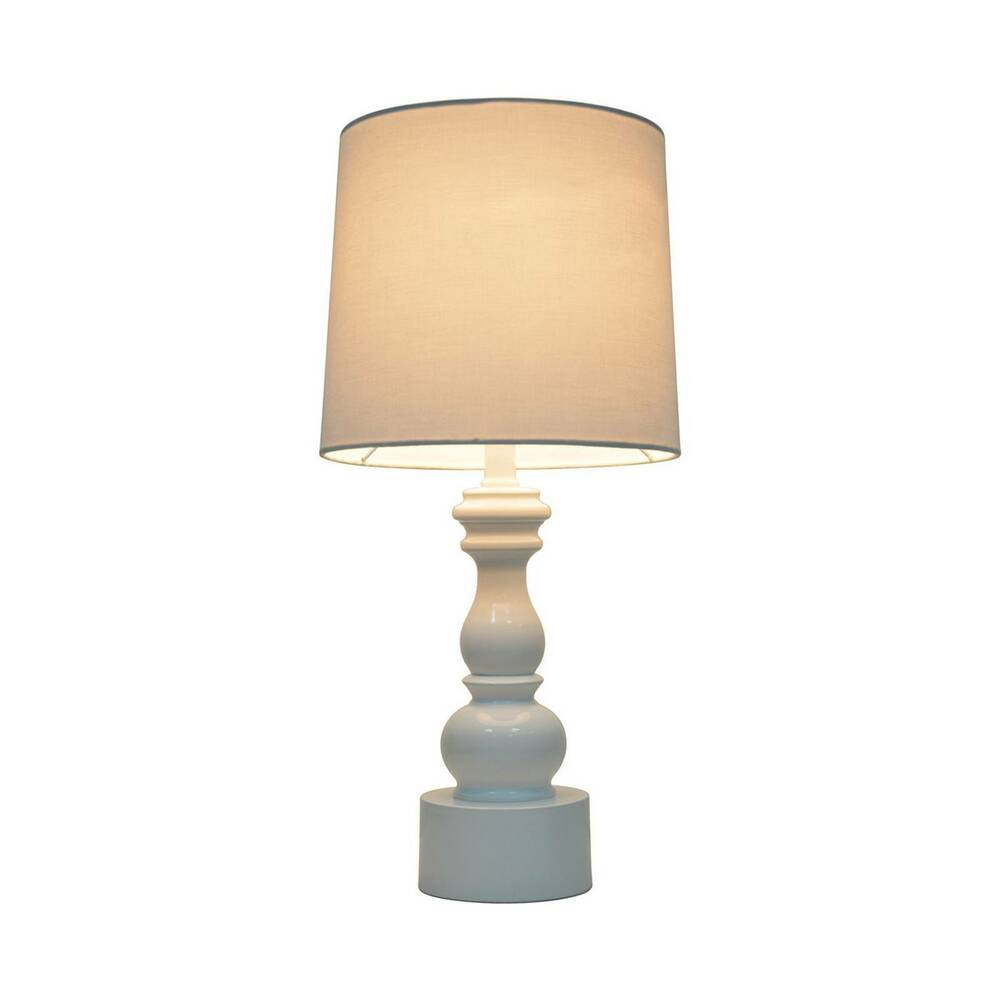 turned table lamp with touch on off includes cfl bulb pillowfort ebay. Black Bedroom Furniture Sets. Home Design Ideas