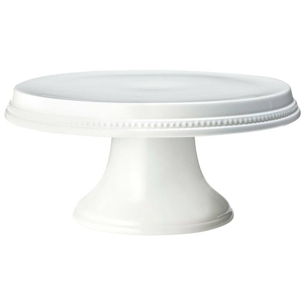 White Metal Lace Cake Stand