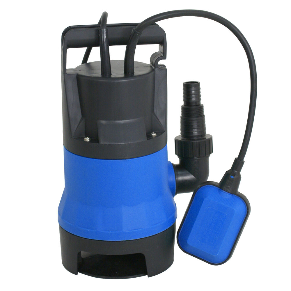 Submersible water pump 1 2 hp 2000gph clean clear dirty for Pond drain pump