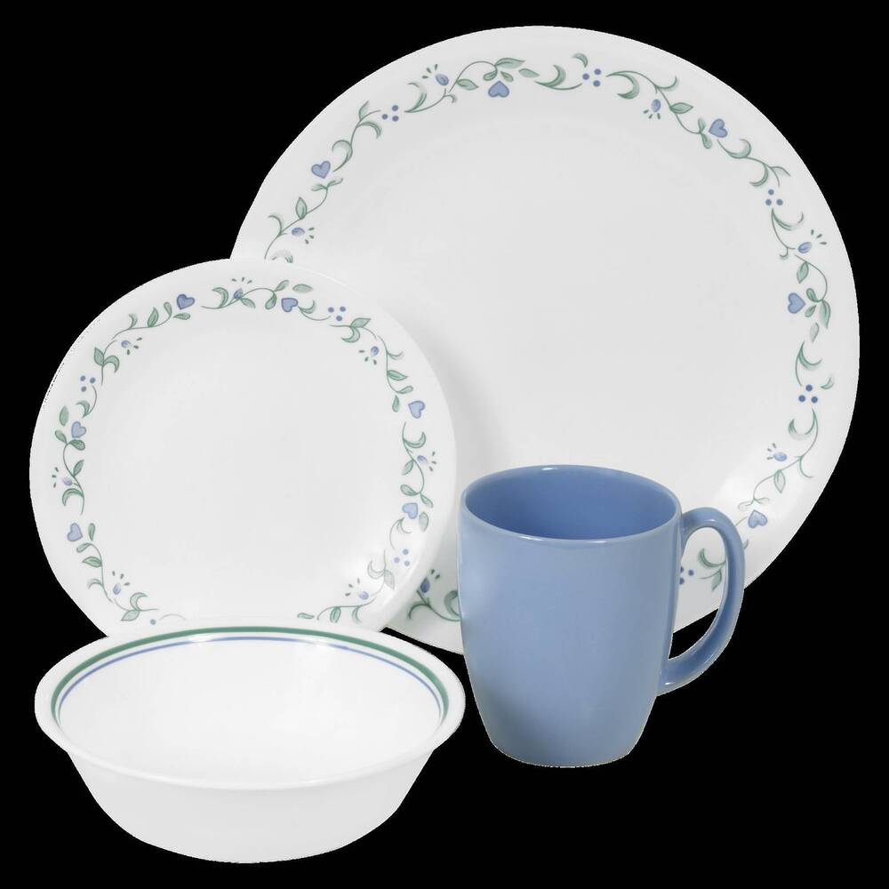 Corelle 174 Livingware 16pc Dinnerware Set Country Cottage