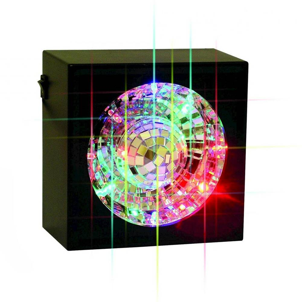 Creative Motions Led Rotating Disco Ball Light Multi