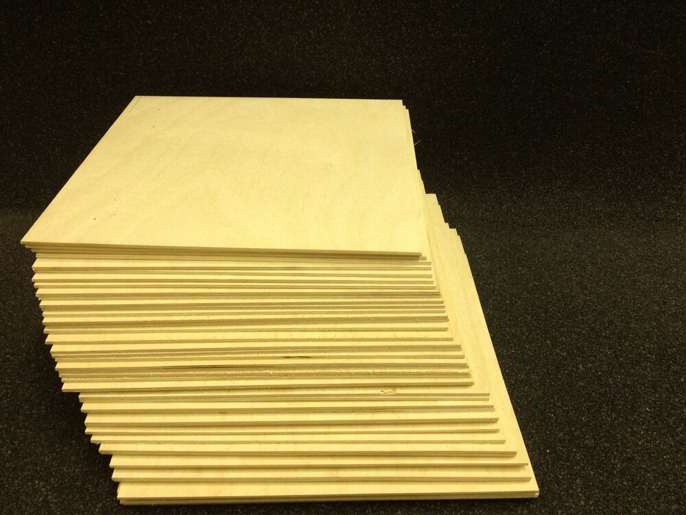 1 4 6mm x 12 x 12 baltic birch plywood for laser cnc for Thin wood sheets for crafts