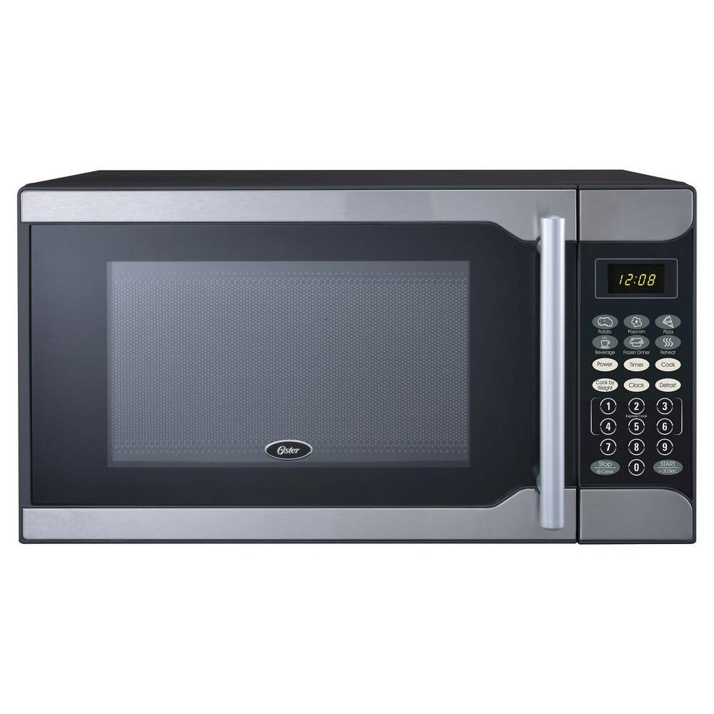 Oster 0 7 Cu Ft 700 Watt Microwave Oven Stainless
