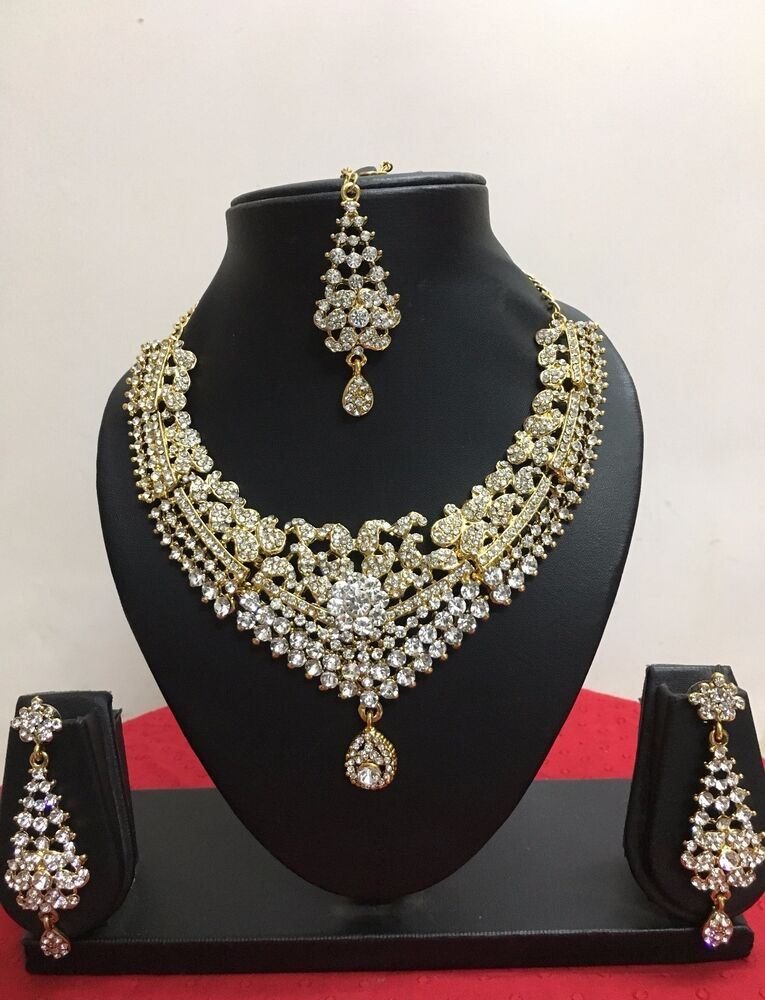 Indian Bollywood Style Designer Gold Plated Fashion Bridal