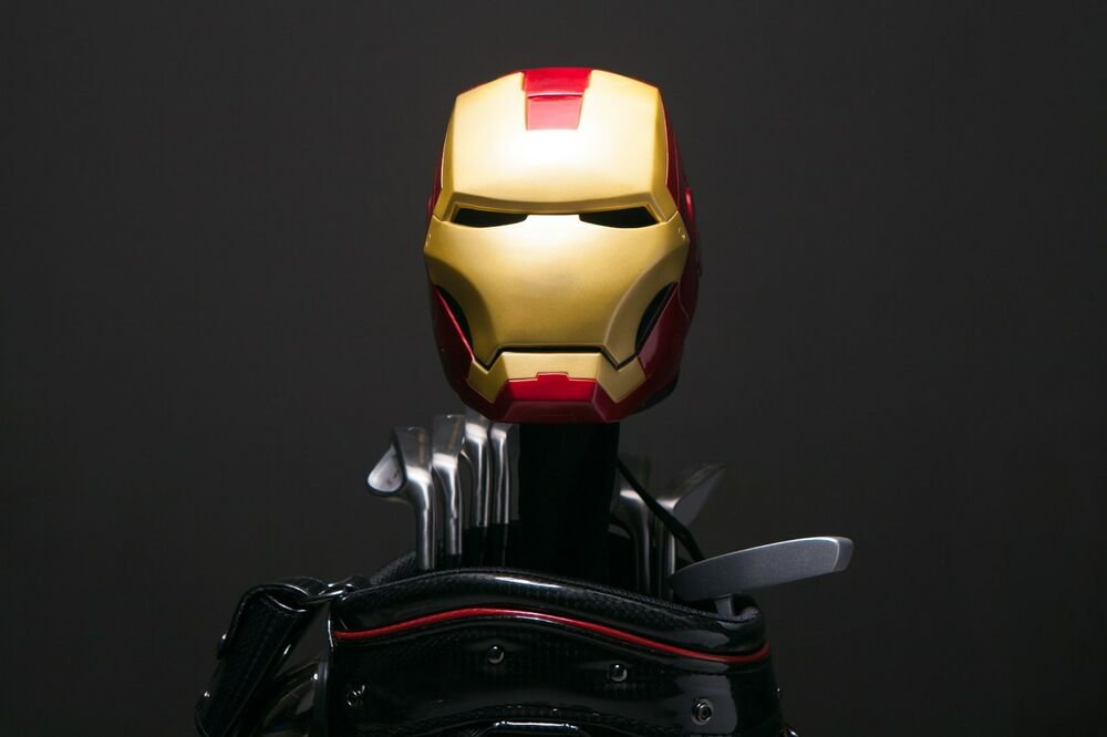 Custom Made Hand Painted Iron Man Mk Iii Golf Driver