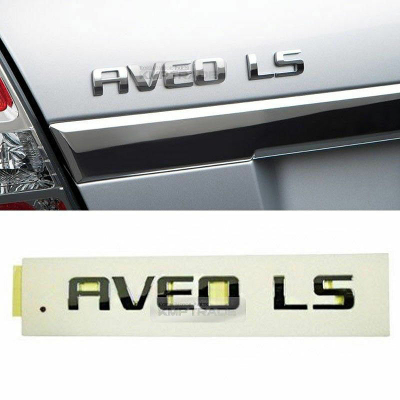 Oem Rear Trunk Chrome Aveo Ls Emblem Logo For Chevrolet 2011 2016