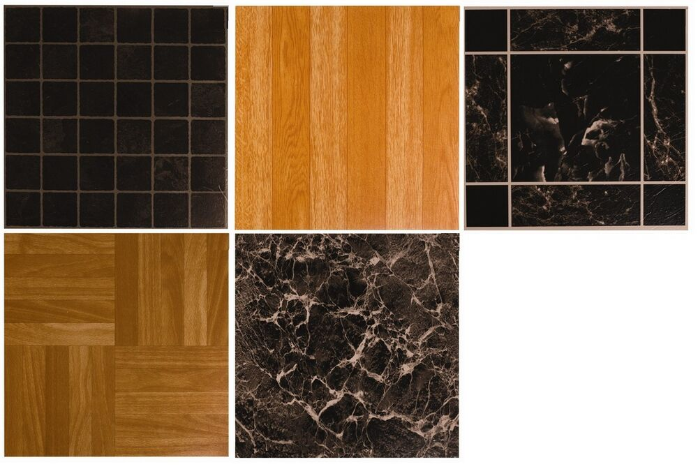 Vinyl self stick floor tiles