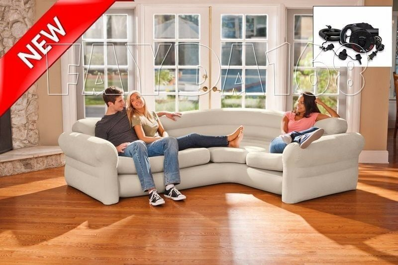 Sectional Sofa Couch Corner Inflatable Air Modern Living Room