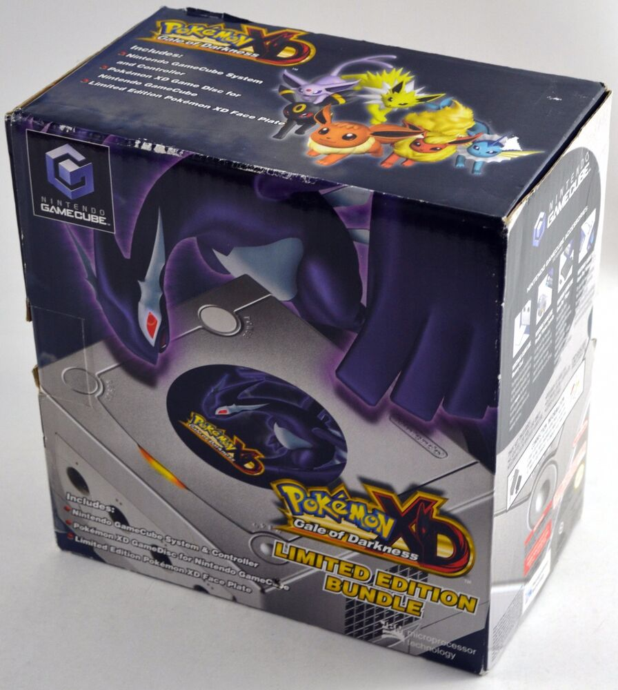 Pokemon Xd Gale Of Darkness Nintendo Gamecube Limited Edition System Sealed 45496940393 Ebay