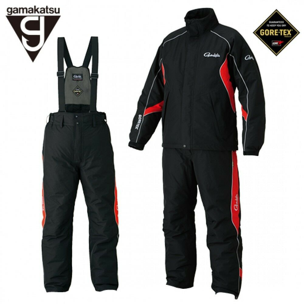 Free shipping gamakatsu fishing suit gore tex rain suit for Mens fishing rain gear