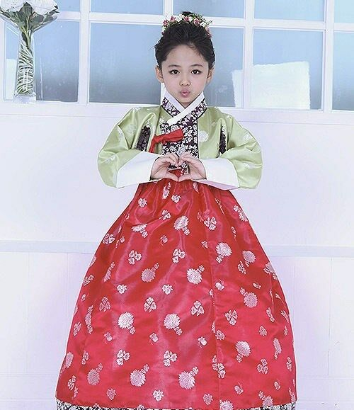 Korean Traditional Dress For Girls