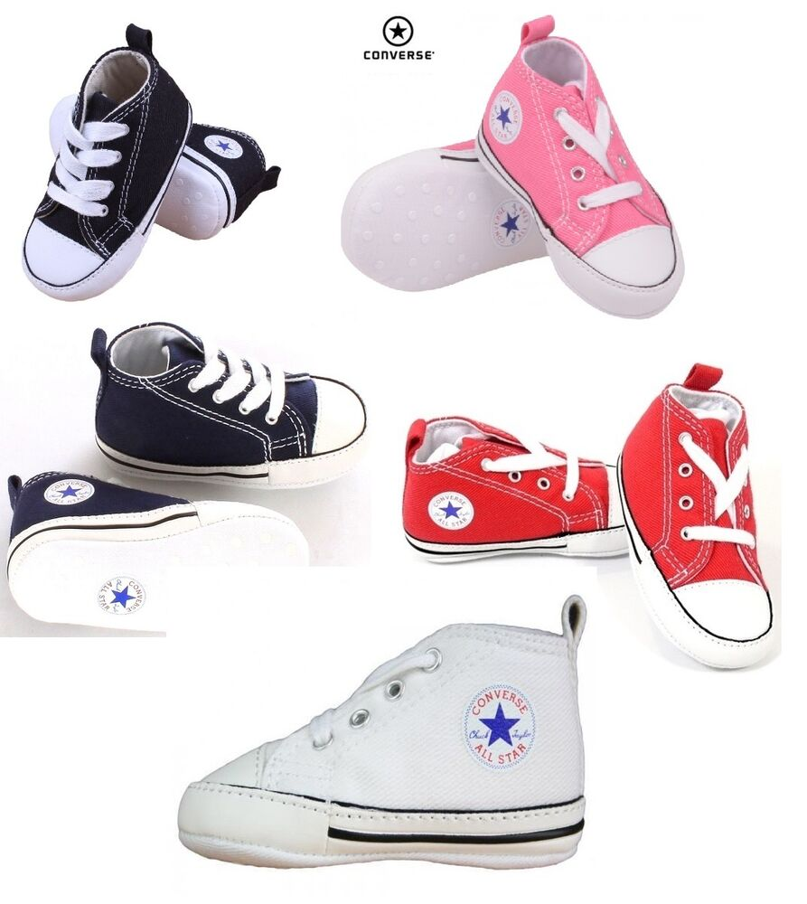 Unisex Converse All Star First Star For Infant Baby Crib