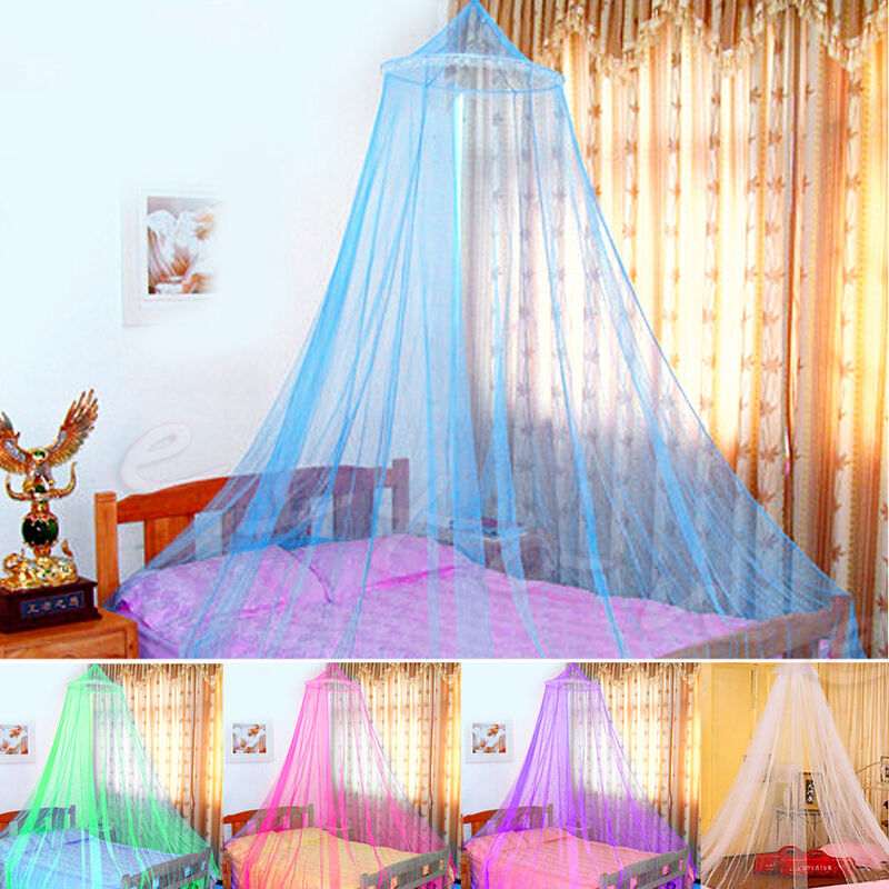 Newest Elegant Round Lace Insect Bed Canopy Netting ...