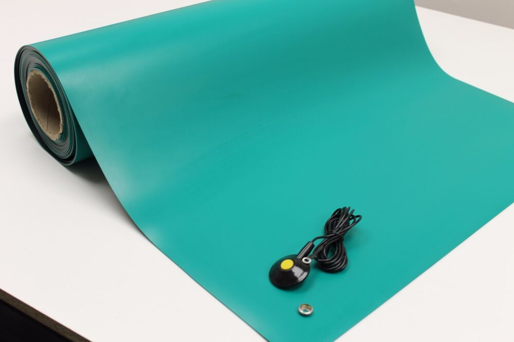2layer Rubber Esd Anti Static Grounding Mat 20 X 24 W