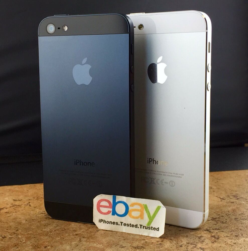 iphone 5s used at t factory unlocked apple iphone 5 black white att tmobile 14891