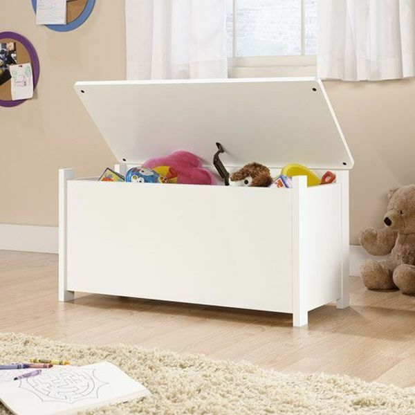 Kids Storage Bench Furniture Toy Box Bedroom Playroom: Kids Toy Box Storage Chest Bedroom Organizer Bench Bin