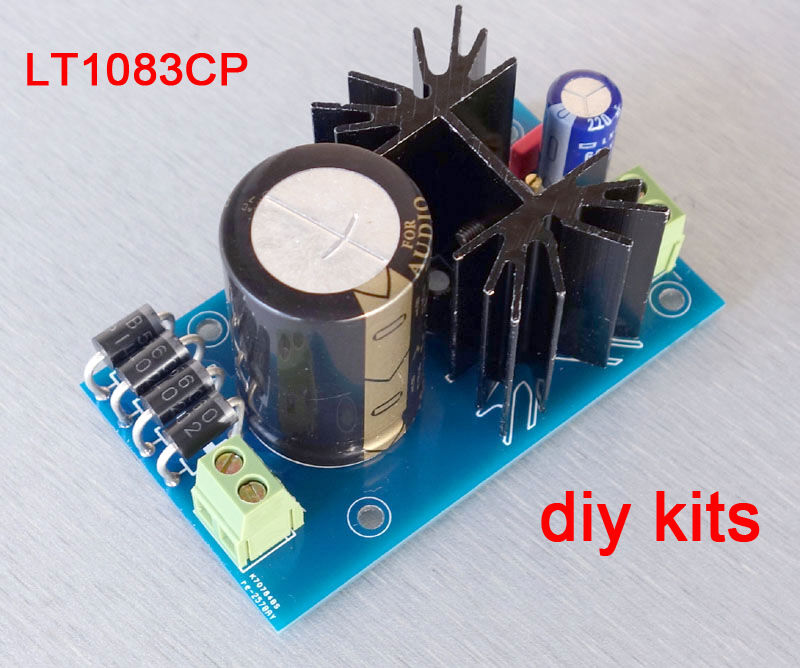 Diy Amplifier Regulated Power Supply