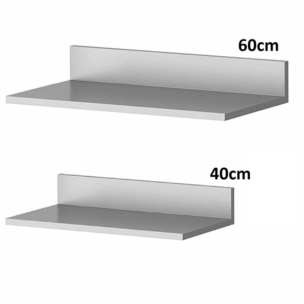 Stainless Steel Wall Mounted Shelve Shelf Rack Kitchen Home Office Equipement Ebay