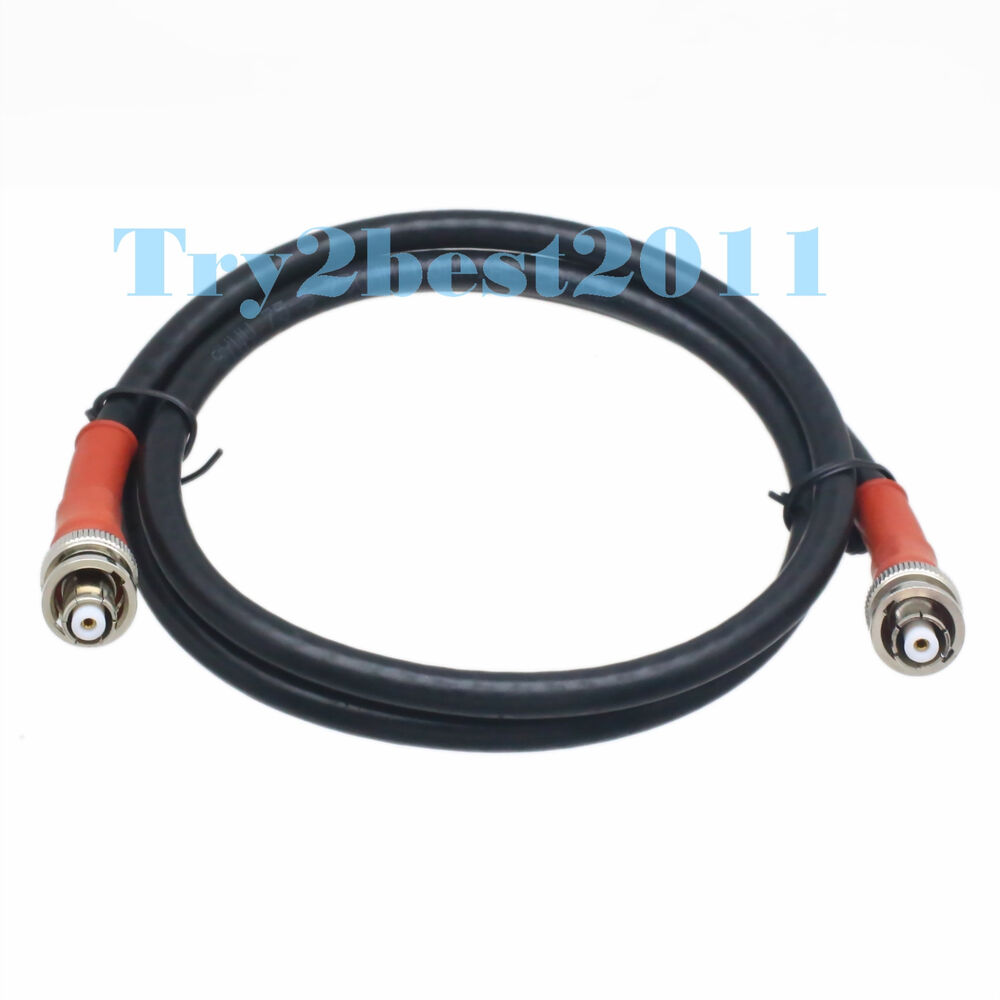 High Voltage Coax Cable : Rpbnc to rp bnc male kv shv high voltage nim coaxial