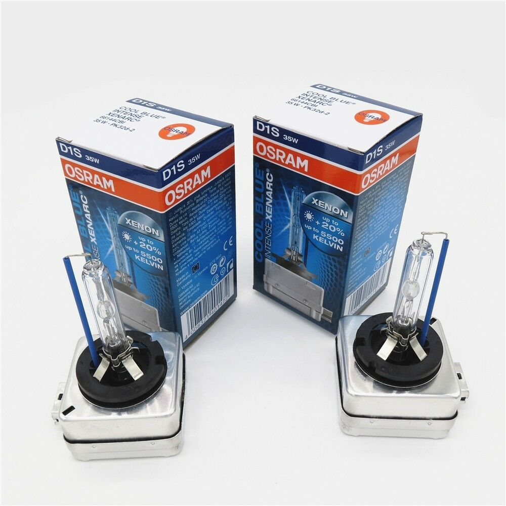 2x d1s osram cbi cool blue intense xenarc35w xenon hid bulbs 5500k car headlight ebay. Black Bedroom Furniture Sets. Home Design Ideas